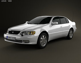 3D Lexus GS S140 1996