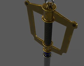Keyblade Realistic with Substance File 3D asset