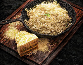 Spaghetti 3D model