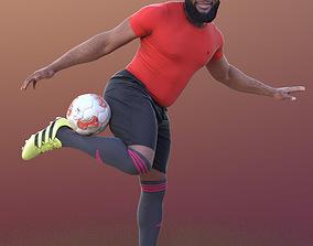 3D asset Gabriel 10375 - Soccer Man