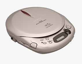 3D model Sony Walkman CD Player