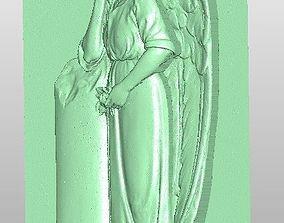 Angel 3D scanned