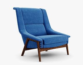 3D model Brabbu - Inca armchair