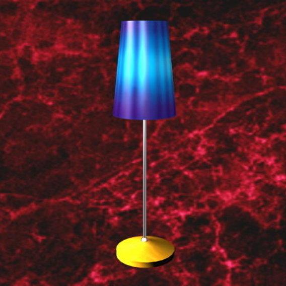 Colorful Floor Lamp