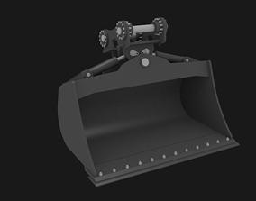 Excavator tilt bucket 3D