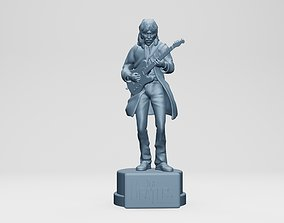 3D print model GEORGE HARISON - THE BEATLES - ROOFTOP