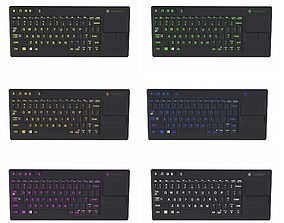 3D model Keyboard Colorful
