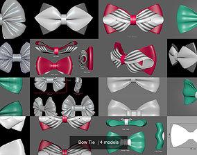 Bow Tie 3D model birthday