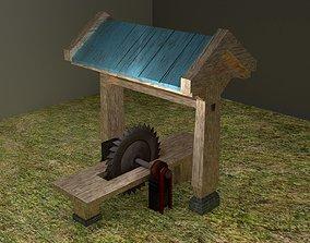 Sawmill 3D asset
