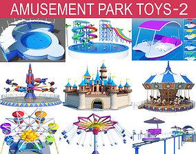 3D model Amusement Park Toys Collection-2