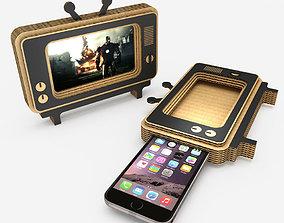 Phone Case TV 3D asset