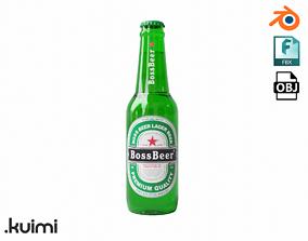 Generic Beer Bottle 02 3D model