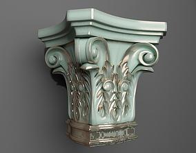 3D print model capital Capital