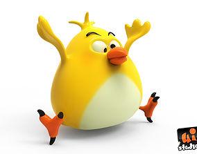 3D model Fat Bird