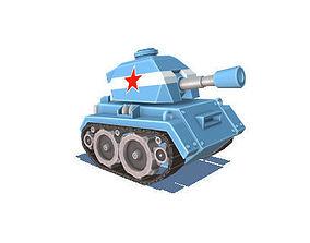 3D asset Tiny Tank - 4 colours