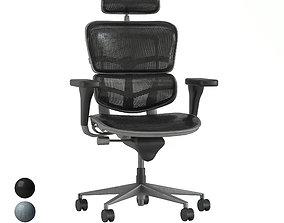office chair - set 1 3D model