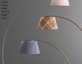 Central Aguirre Floor Lamp 3D