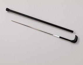 3D model Sword Stick