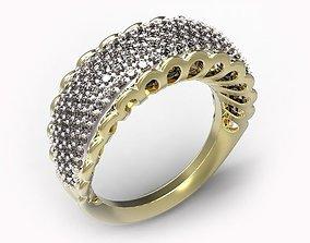 3D print model rubies Ring