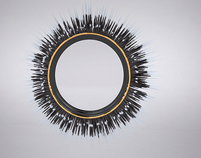 Porcupine Quill Mirror 3D model