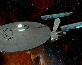 STAR TREK - USS ENDEAVOUR NCC-1716 3D asset