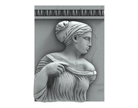 Aphrodite bas-relief 3D print model
