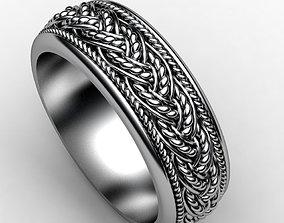 Model of wedding rings