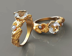 3D print model Aphrodite Ring