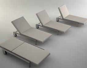 Chaise by Marmol Radziner 3D