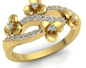 Love Diomand Ring3D model Print