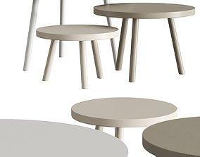 3D model Morgen Stool Tables