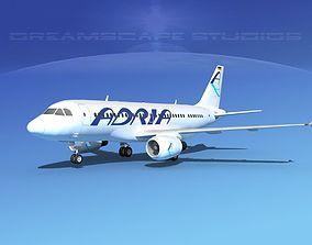 3D Airbus A319 Adria