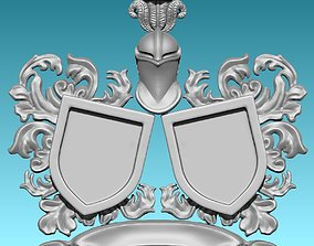 3D print model Medieval Blazon-Coat of Arms - 2