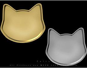 Cat Face Tray 3D model