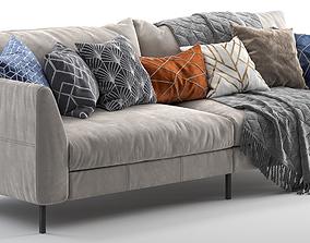 3D model Pohjanmaan Loft sofa 260cm