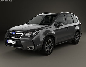 Subaru Forester XT Touring 2016 3D model