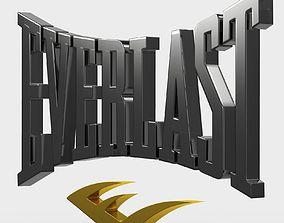Everlast logo 3D model