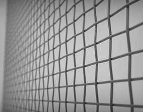 3D model tileable mesh grid pattern