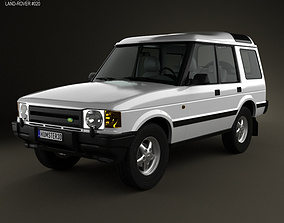 Land Rover Discovery 5-door 1989 3D