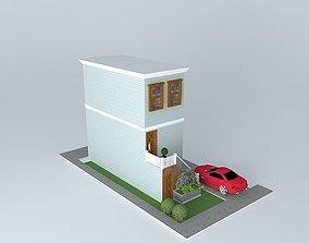 casa vitoriana victorian house 3D