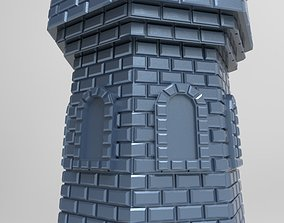 skyscraper lighthouse tower for 3d printing