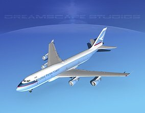 3D Boeing 747-400 Cathay Pacific Cargo