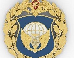 Chest badge emblem 3D print model
