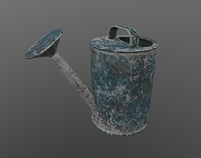 Old Watering Can 3D model