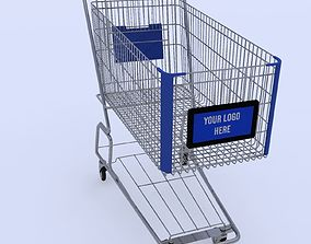 chain Shopping Cart 3D model
