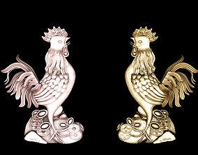 Chicken pendants 3D print model