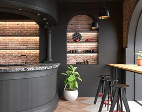 MODERN CLASSIC CAFE 3D