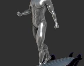 3D printable model Marvel Silver Surfer