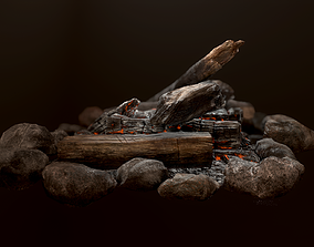 3D model The Bonfire
