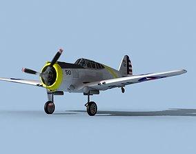 3D Curtiss P-36C Hawk V03 USAAF